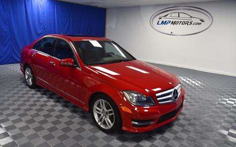 2013 Mercedes-Benz C-Class for sale in Plantation, FL