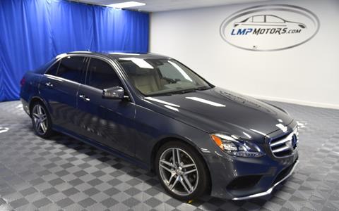 2014 Mercedes-Benz E-Class for sale in Plantation, FL