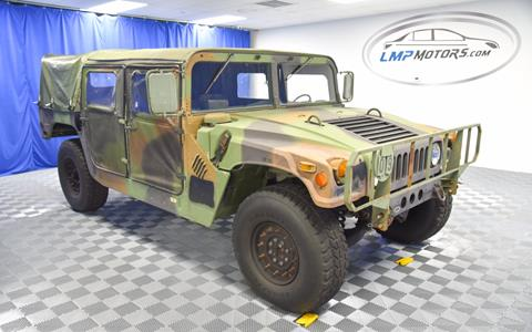 1992 AM General Humvee M998 for sale in Plantation FL