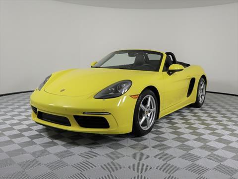 2017 Porsche 718 Boxster for sale in Plantation, FL