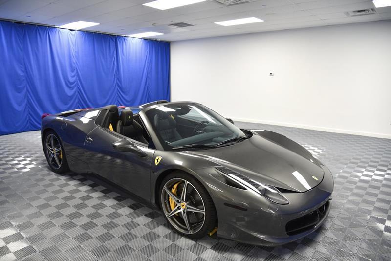 2014 Ferrari 458 Spider In Plantation Fl Lmp Motors