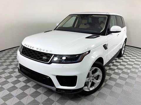 2019 Land Rover Range Rover Sport for sale in Plantation, FL