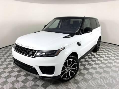 2020 Land Rover Range Rover Sport for sale at LMP Motors in Plantation FL