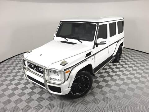 2017 Mercedes-Benz G-Class for sale at LMP Motors in Plantation FL