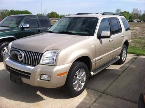 2007 Mercury Mountaineer for sale in Farina IL