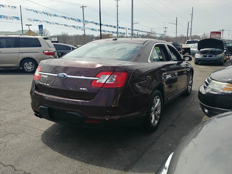 2010 ford taurus sel in independence mo - jj's auto sales