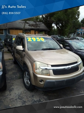 Jj Auto Sales >> 2006 Chevrolet Equinox For Sale In Independence Mo
