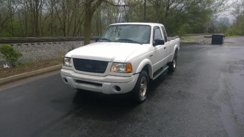 Ford Ranger Edge Plus In Fredericksburg VA ECOCARS LLC - 2001 ranger