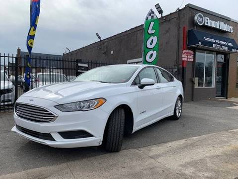 2017 Ford Fusion Hybrid for sale in Elmont, NY