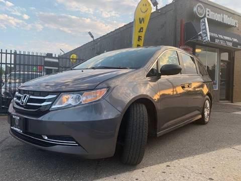 2017 Honda Odyssey for sale in Elmont, NY