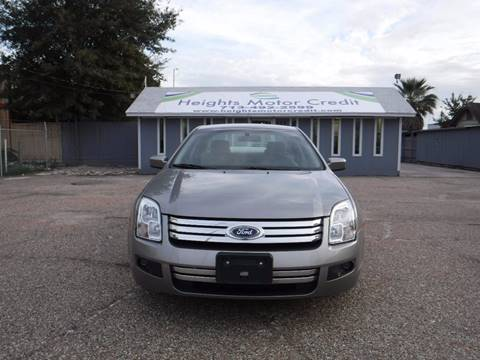 2008 Ford Fusion for sale in Houston TX