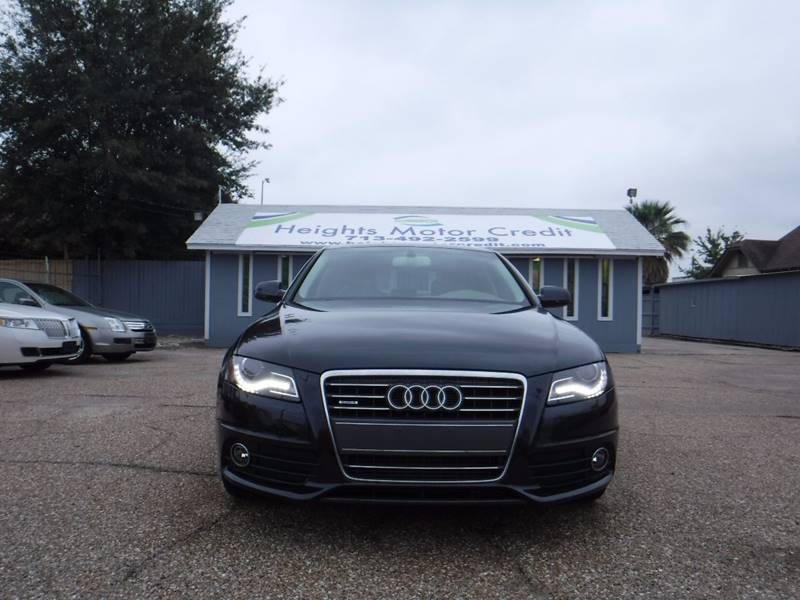2012 Audi A4 2.0T quattro Premium Plus In Houston, TX ...
