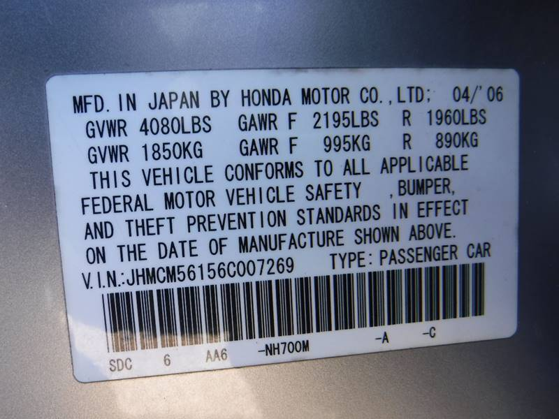 2006 honda accord value package in houston tx heights motor credit 2006 honda accord for sale at heights motor credit in houston tx sciox Image collections