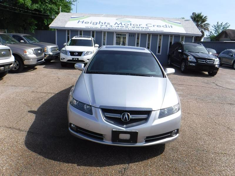 2007 Acura Tl For Sale At Heights Motor Credit In Houston Tx