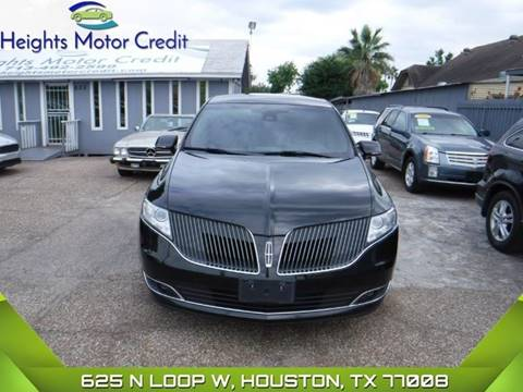 2014 Lincoln MKT Town Car for sale in Houston, TX