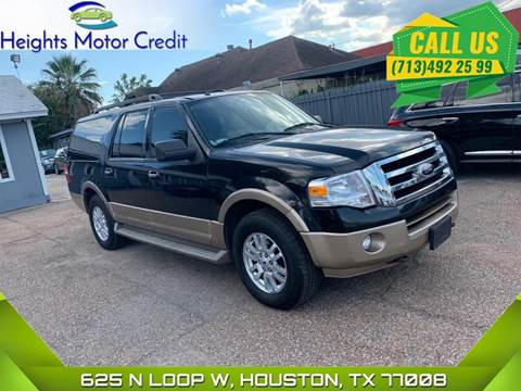 2014 Ford Expedition EL for sale in Houston, TX