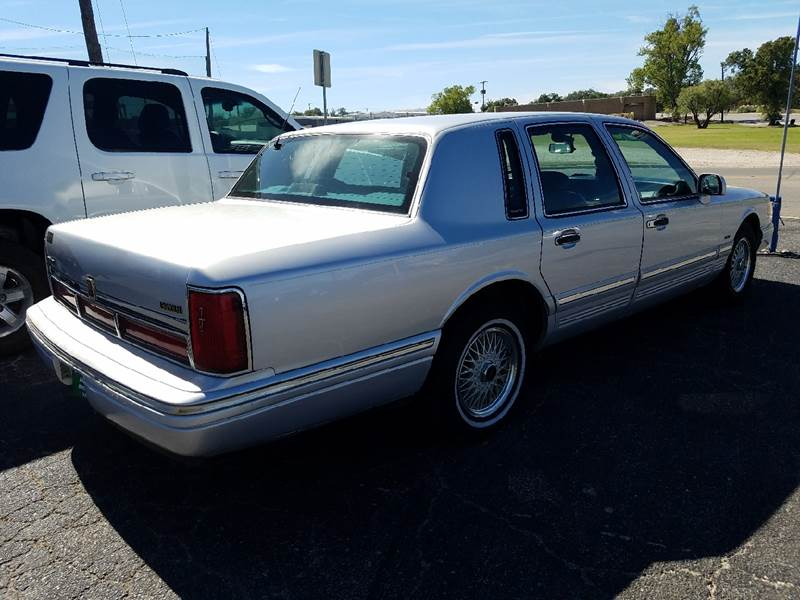 1995 Lincoln Town Car Signature In Brownwood Tx Pinkston Auto Sales