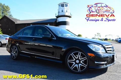 2013 Mercedes-Benz C-Class for sale in Geneva, NY