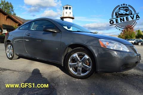 2008 Pontiac G6 for sale in Geneva, NY