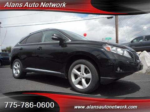 2010 Lexus RX 350 for sale in Reno NV