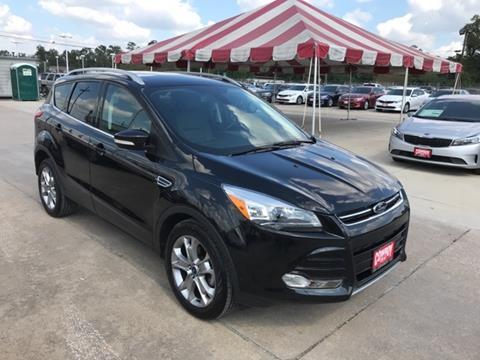 2014 Ford Escape for sale in Conroe TX