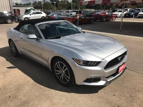 2016 Ford Mustang for sale in Conroe TX