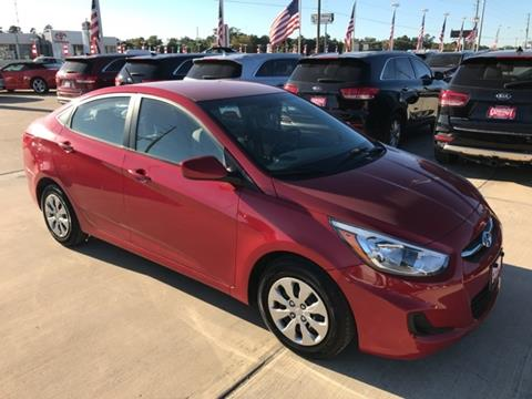 2016 Hyundai Accent for sale in Conroe TX