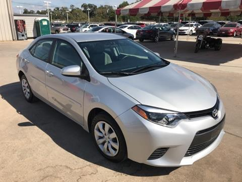 2016 Toyota Corolla for sale in Conroe TX