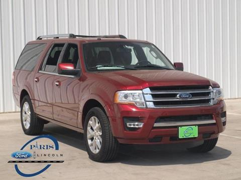 2017 Ford Expedition EL for sale in Paris, TX