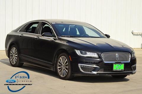2017 Lincoln MKZ for sale in Paris, TX