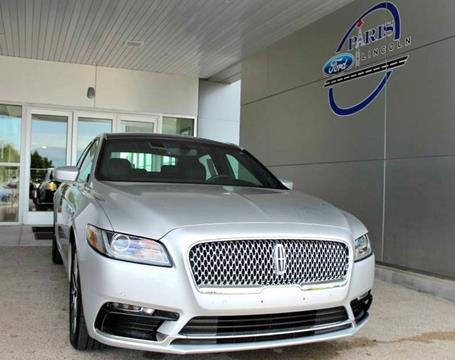 2017 Lincoln Continental for sale in Paris, TX