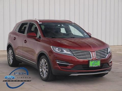 2015 Lincoln MKC for sale in Paris, TX