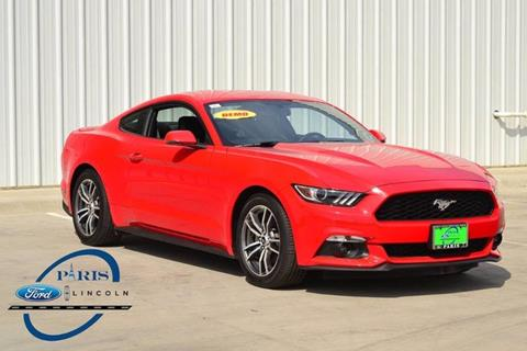 2017 Ford Mustang for sale in Paris, TX