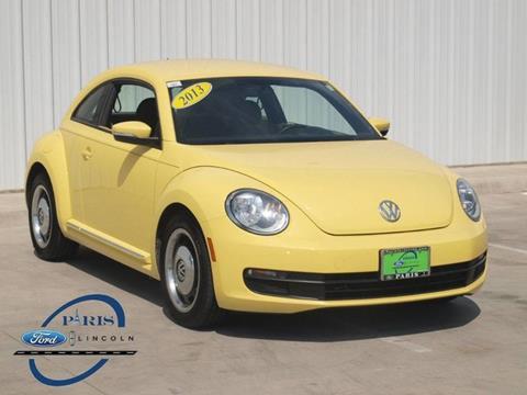 2013 Volkswagen Beetle for sale in Paris, TX