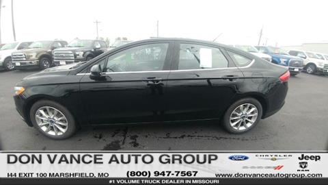 2017 Ford Fusion for sale in Marshfield, MO