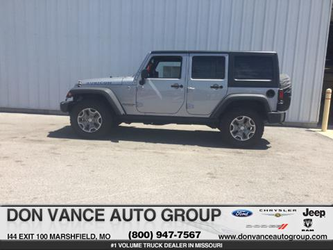 2014 Jeep Wrangler Unlimited for sale in Marshfield, MO