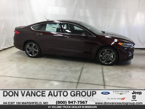 2017 Ford Fusion for sale in Marshfield MO