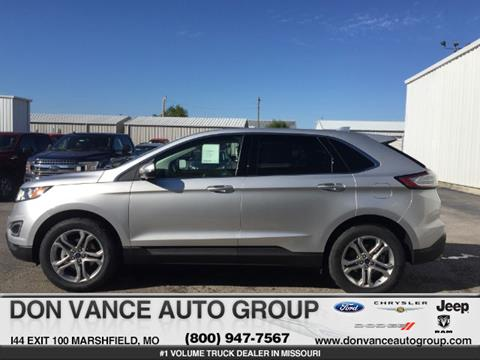 2017 Ford Edge for sale in Marshfield MO
