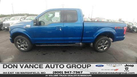 2017 Ford F-150 for sale in Marshfield, MO