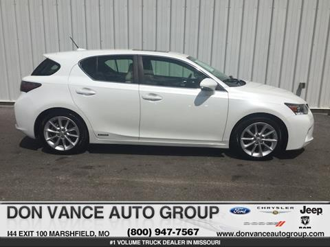 2012 Lexus CT 200h for sale in Marshfield, MO