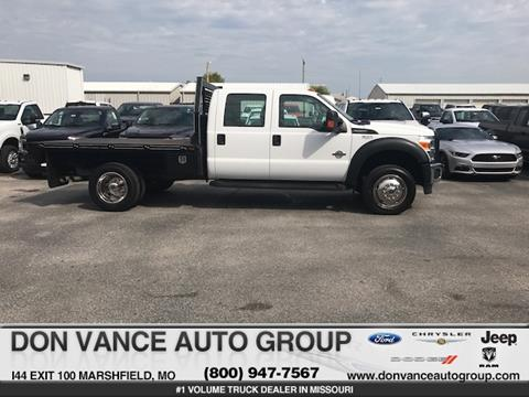 2012 Ford F-550 for sale in Marshfield, MO