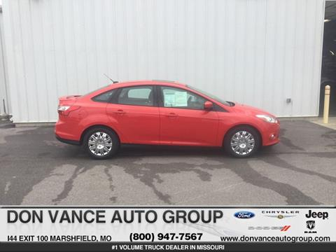 2012 Ford Focus for sale in Marshfield, MO