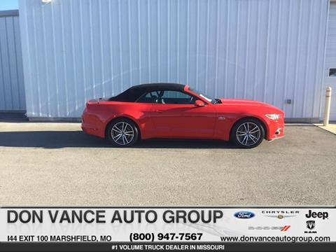 Used 2015 Ford Mustang For Sale In Missouri