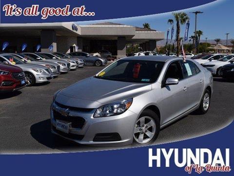 2016 Chevrolet Malibu Limited For Sale At HYUNDAI OF LA QUINTA In La Quinta  CA