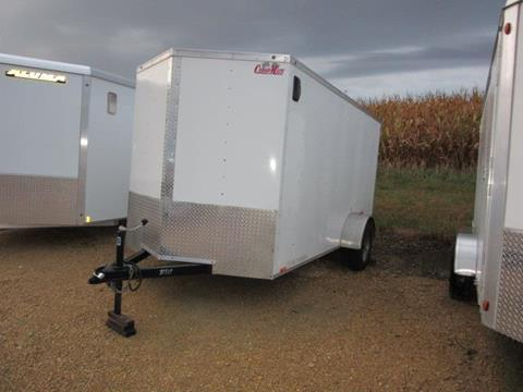 2011 Cargo Mate 6  X 12 ENC TAILER W/REAR RAMP for sale in Madison Lake, MN