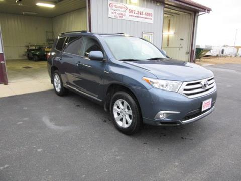 2012 Toyota Highlander for sale in Madison Lake, MN