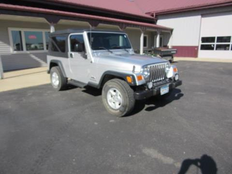 2004 Jeep Wrangler for sale in Madison Lake, MN