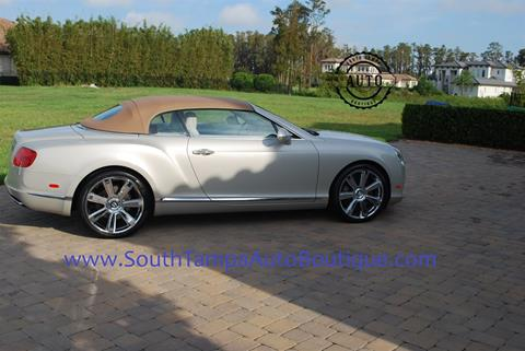 2013 Bentley Continental GTC for sale in Tampa FL