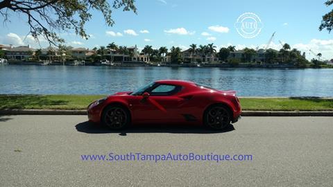 2015 Alfa Romeo 4C for sale in Tampa FL