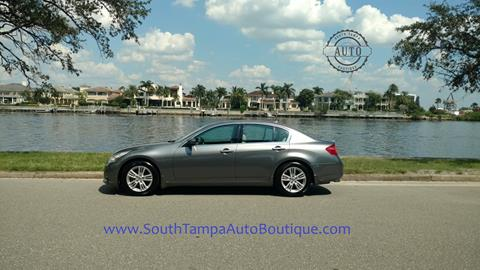 2010 Infiniti G37 Sedan for sale in Tampa, FL